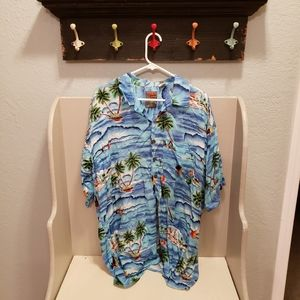 Other - Pineapple Connection Hawaiian Aloha Shirt 2XT TALL